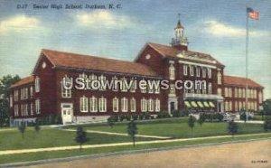 Senior High School, Durham in Durham, North Carolina