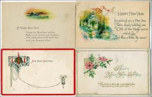New Years - 4 Cards (1 Winsch)