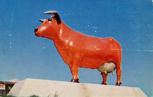 NJ - Cowtown. Famous Statuary Trademark Steer