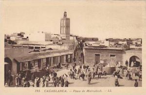 Place De Marrakech, Casablanca, Morocco, Africa, 1900-1910s