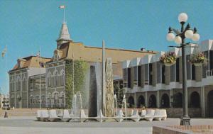 VICTORIA, British Columbia, Canada, 1940-1960's; Centenial Fountain