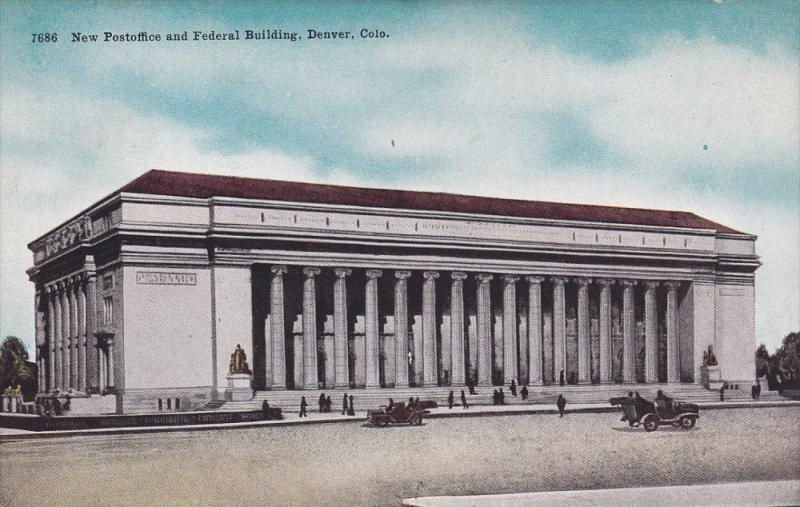 DENVER, Colorado; New Postoffice and Federal Building, 00-10s