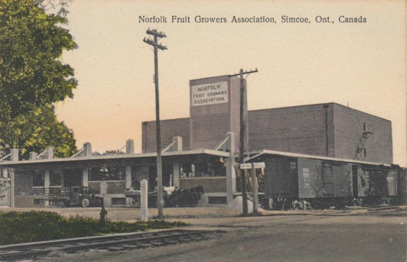 SIMCOE , Ontario , Canada , 1900-10s ; Norfolk Fruit Growers Association