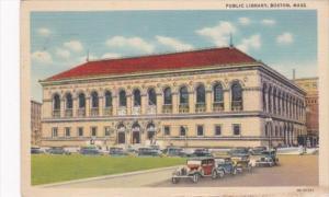 Massachusetts Boston Public Library Curteich