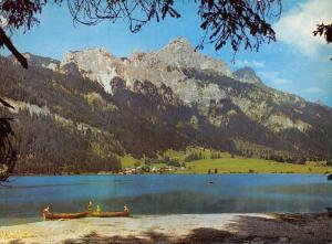 Giant Size Postcard Haller Am Haldensee, Tannhelmertal, Tirol, Austria OS89