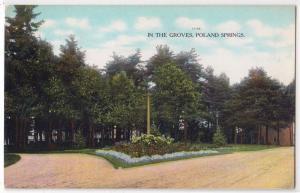 Groves, Poland Springs ME