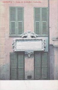 Italy Genova Casa di Cristoforo Colombo