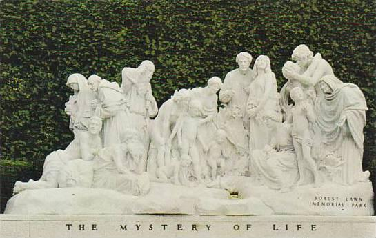 California Glendale This Largest Sculptured Group In Forest Lawn Has Won Worl...