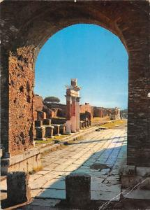 Italy Pompei View of Forum from the Arch of Germanicus
