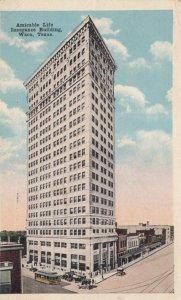 WACO, Texas, 1917; Amicable Life Insurance Building