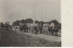RP: WEST RUTLAND , Vermont, 1908 ; Road Crew