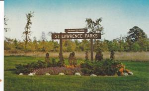 Campsites on Long Sault Parkway , CORNWALL , Ontario , Canada ,  50-60s