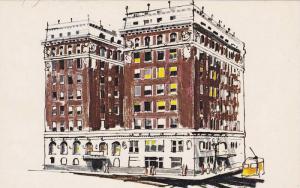 Exterior,  Paso Del North Hotel,  El Paso,  Texas,  40-60s