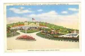 Summit Hotel & Golf Club, Uniontown, Pennsylvania, PU-1948