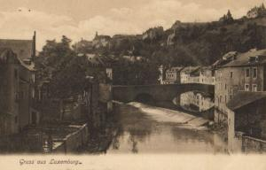 CPA Luxembourg Panorama (30786)