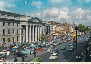 DUBLIN, Ireland, 1950-1960s; General Post Office, O'Connell Street