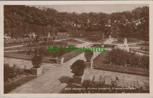 Lancashire Postcard - Rose Gardens, Ashton Gardens, St Annes-On-Sea RS25294