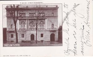 NEW HAVEN, Connecticut; Yale Law School, Yale University, PU-1907