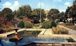 Pangborn Public Park Hagerstown MD Postal used unknown