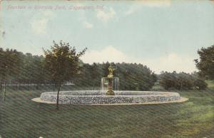 Fountain in Riverside Park, LOGANSPORT, Indiana, 00-10s