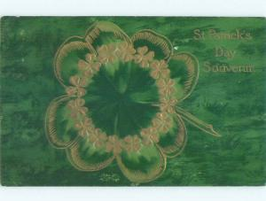 Divided-Back ST. PATRICK'S DAY SCENE Great Postcard W8088
