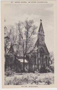 Wisconsin Racine St Johns Chapel Artvue