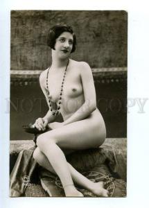 129013 NUDE Woman BELLE Vase Vintage PHOTO PC Paris #2483 PC