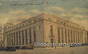South Bend, IN USA,  Post Office Postcard, Postoffice Post Card Old Vintage A...