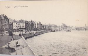 LIEGE, Belgium; Quai de la Batte, 00-10s
