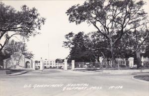 Mississippi Gulfport U S Government Hospital Entrance Real Photo