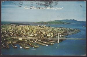 San Francisco Waterfront,CA Postcard BIN