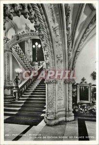 Modern Postcard Portugal Bussaco 268 detalhe da escada nobre do palace hotel