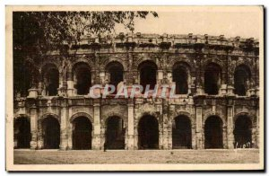 Nimes - Les Arenes Old Postcard
