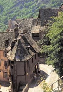 Postcard CONQUES Village, Aveyron, France #383
