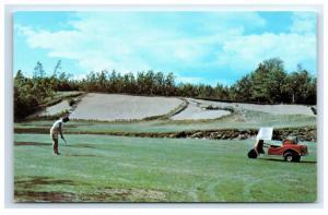 Postcard 17th Hole @ Kebo Valley Golf Club, Bar Harbor, Maine  A12