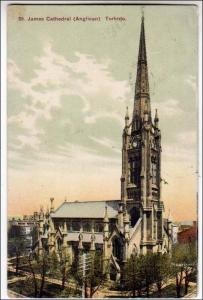 Canada - ON, Toronto. St James Cathedral