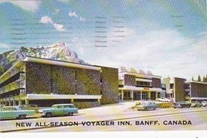 Canada Alberta Banff All Season Voyager Inn 1965