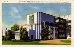 IL - Chicago. 1933 World's Fair, Century of Progress. Administration Building