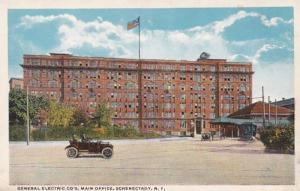 New York Schenectady General Electric Works Main Office Curteich