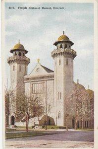 Temple Emanuel , Denver , Colorado , 1910s