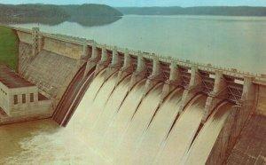 Jamestown, Kentucky, KY, Wolf Creek Dam, Lake Cumberland, Vintage Postcard g8286