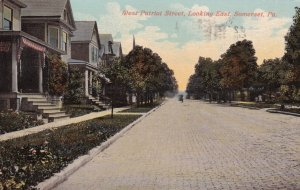 SOMERSET, Pennsylvania, PU-1912; West Patriot Street, Looking East