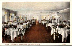 Yellowstone National Park Lake Hotel Dining Room Haynes Photo
