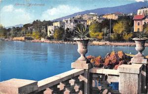 Croatia Opatija: Abbazia, Wordstrand 1913