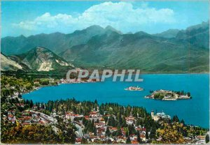 Postcard Modern Stresa Lake Maggiore and the Islands