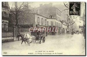 COPYRIGHT Crue of the Seine Paris Passage of the baker street Lourmel