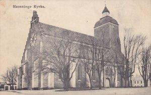 SKENNINGE, Sweden; Kyrka, PU-1911
