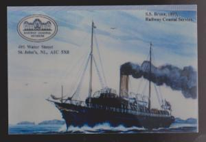 SS Bruce - Railway Coastal Museum Reprduction Of Old Photo - Unused