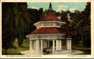LOT OF 3- French Lick, Indiana - The Famous Pluto Spring - POSTCARD -PC