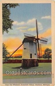 Dearborn, Michigan, USA Cape Cod Windmill
